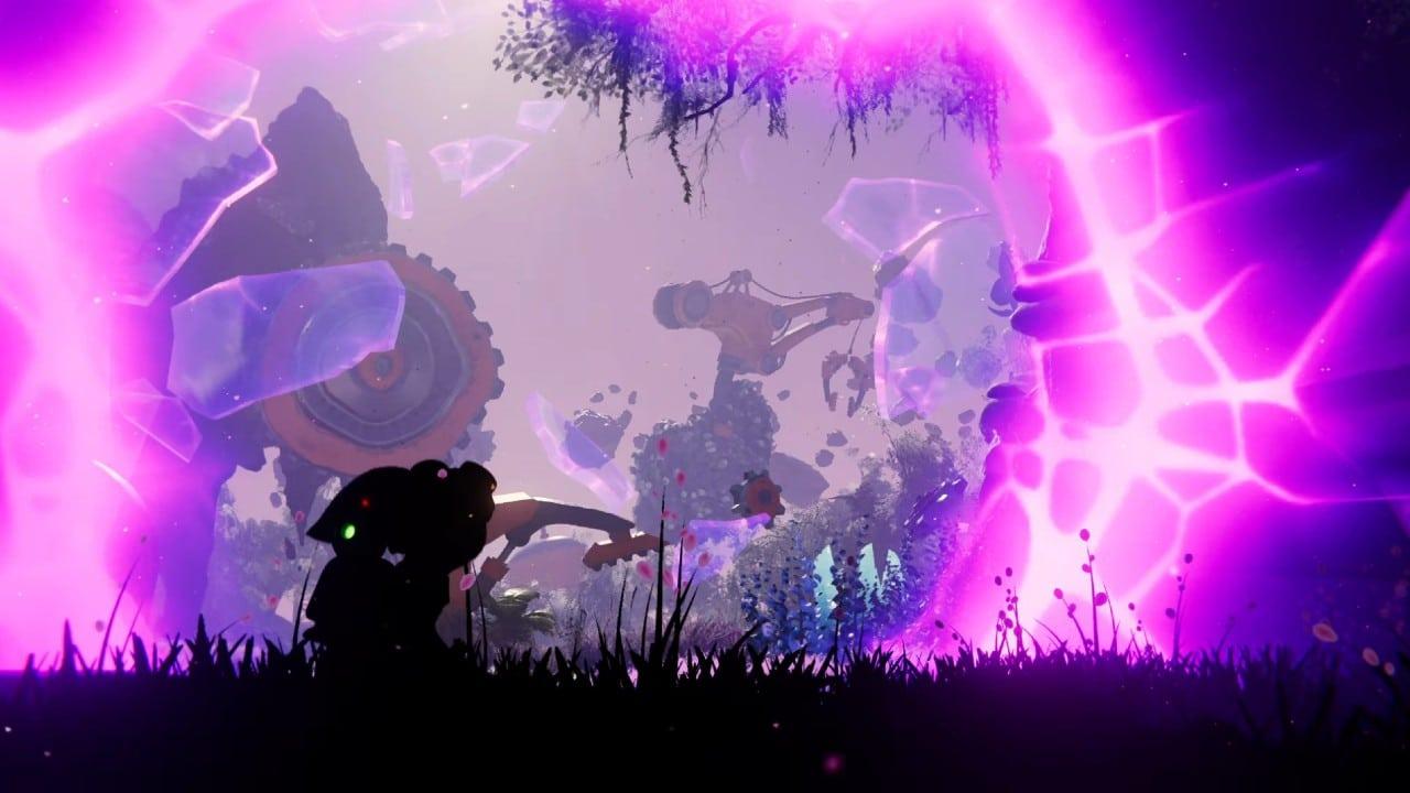Rivet atravessa uma fenda dimensional em Ratchet & Clank: Em Uma Outra Dimensão