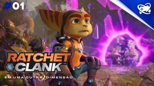 Ratchet & Clank: Em Uma Outra Dimensão - Gameplay SEM COMENTÁRIOS
