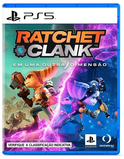 capa Ratchet clank em uma outra dimensao ps5 pre venda