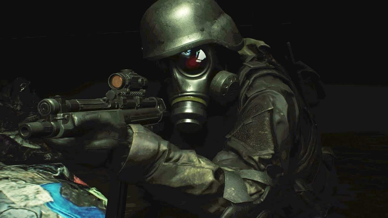 HUNK, personagem de Resident Evil.