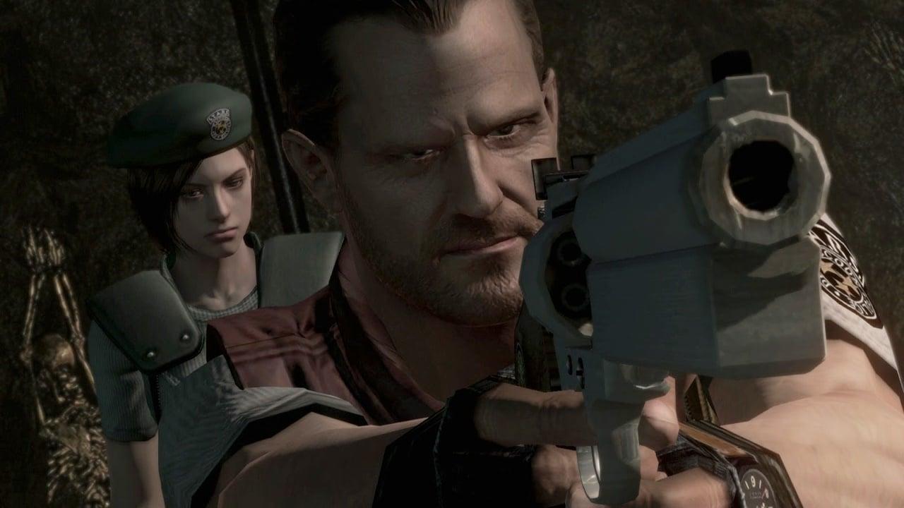 Barry Burton, personagem de Resident Evil.