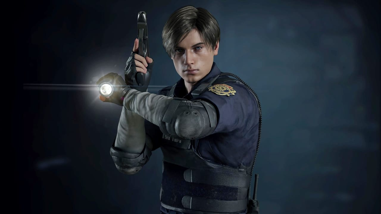 Leon, personagem de Resident Evil.