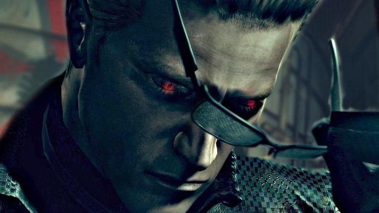 Wesker, personagem de Resident Evil.