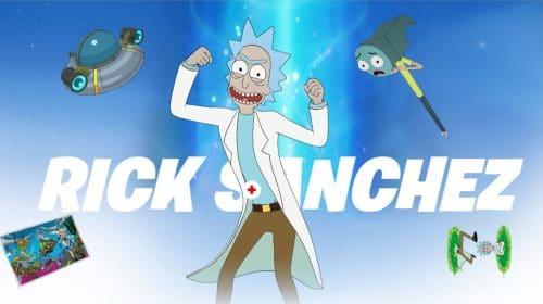 Saiba como conseguir a skin do Rick, de Rick e Morty, no Fortnite