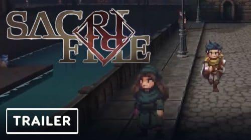 SacriFire, inspirado em clássicos JRPGs dos anos 90, chega em 2022 ao PS4 e ao PS5