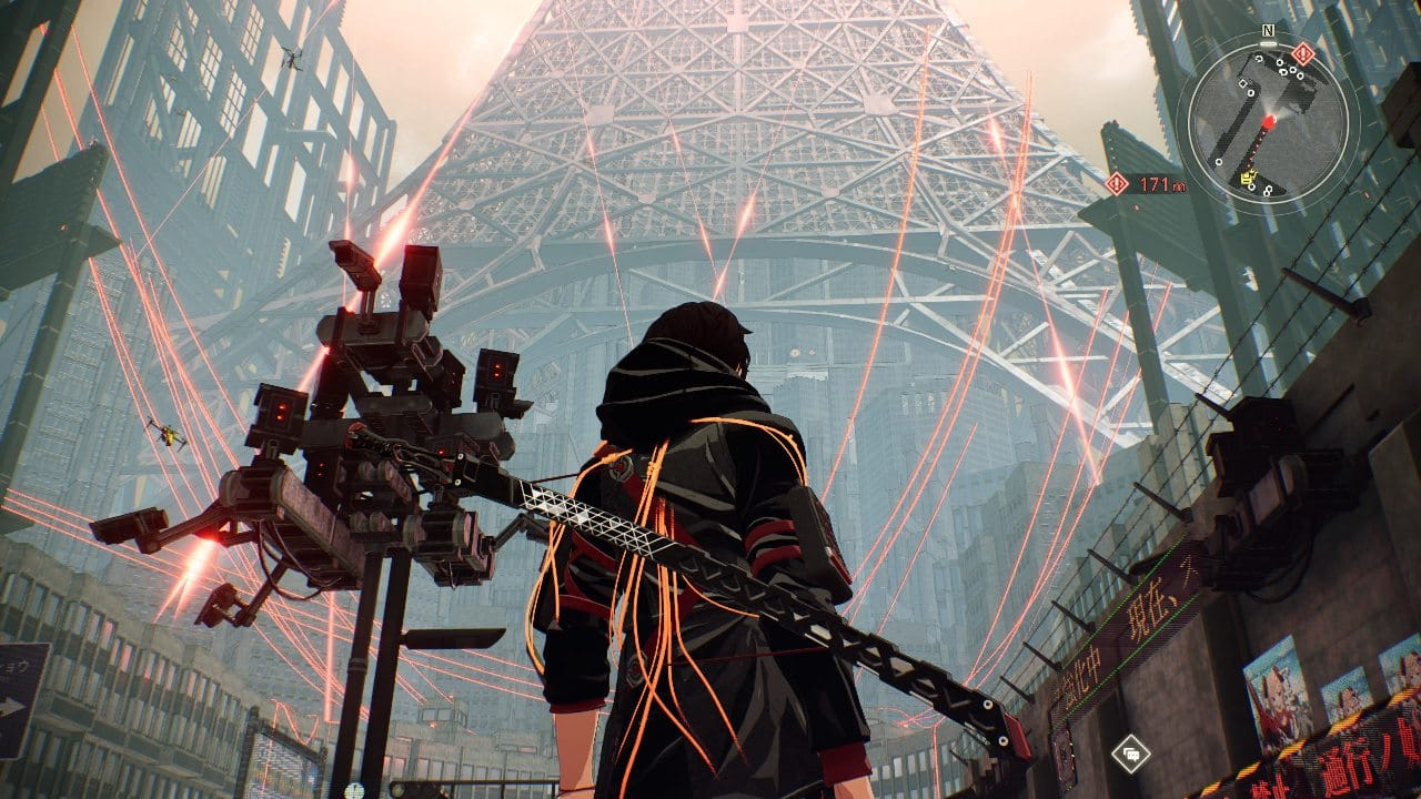 Scarlet Nexus - O ambiente do game