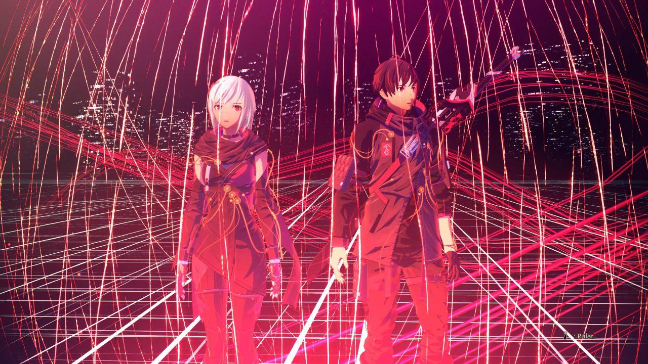 """Scarlet Nexus - Yuito e Kasane entre os """"Fios Vermelhos"""""""