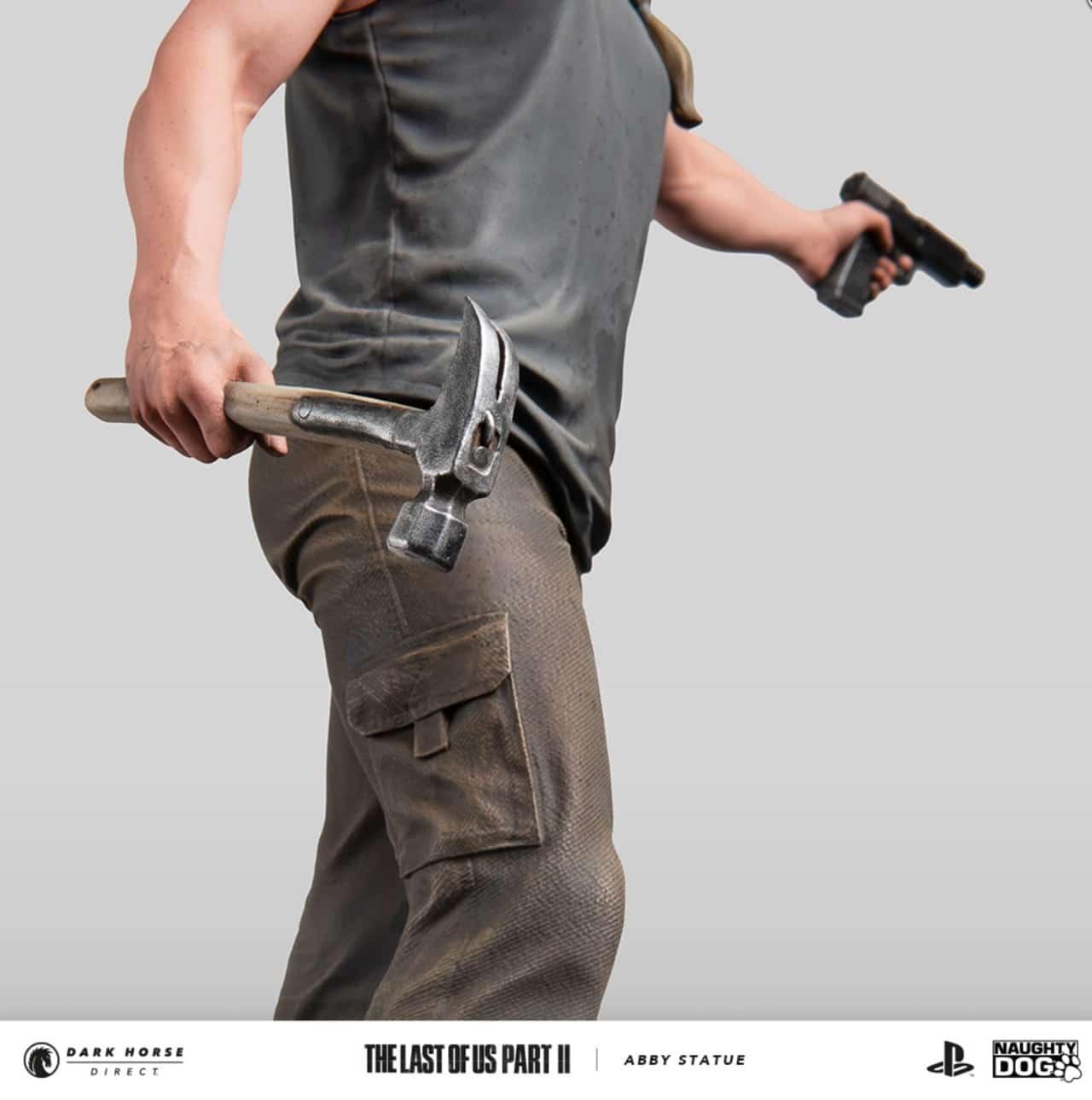 Estatueta de Abby, de The Last of Us 2.