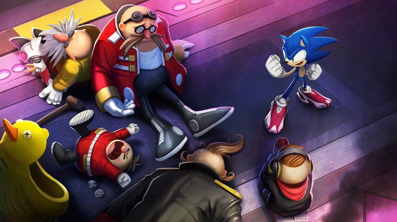 Arte conceitual da série Sonic prime