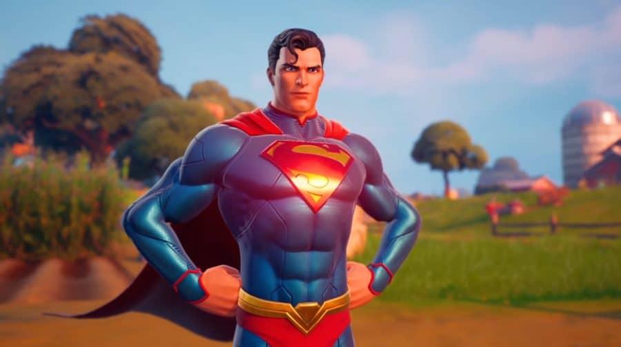 Skin do Super-Homem em Fortnite chega no dia 12 de agosto; saiba como obtê-la!