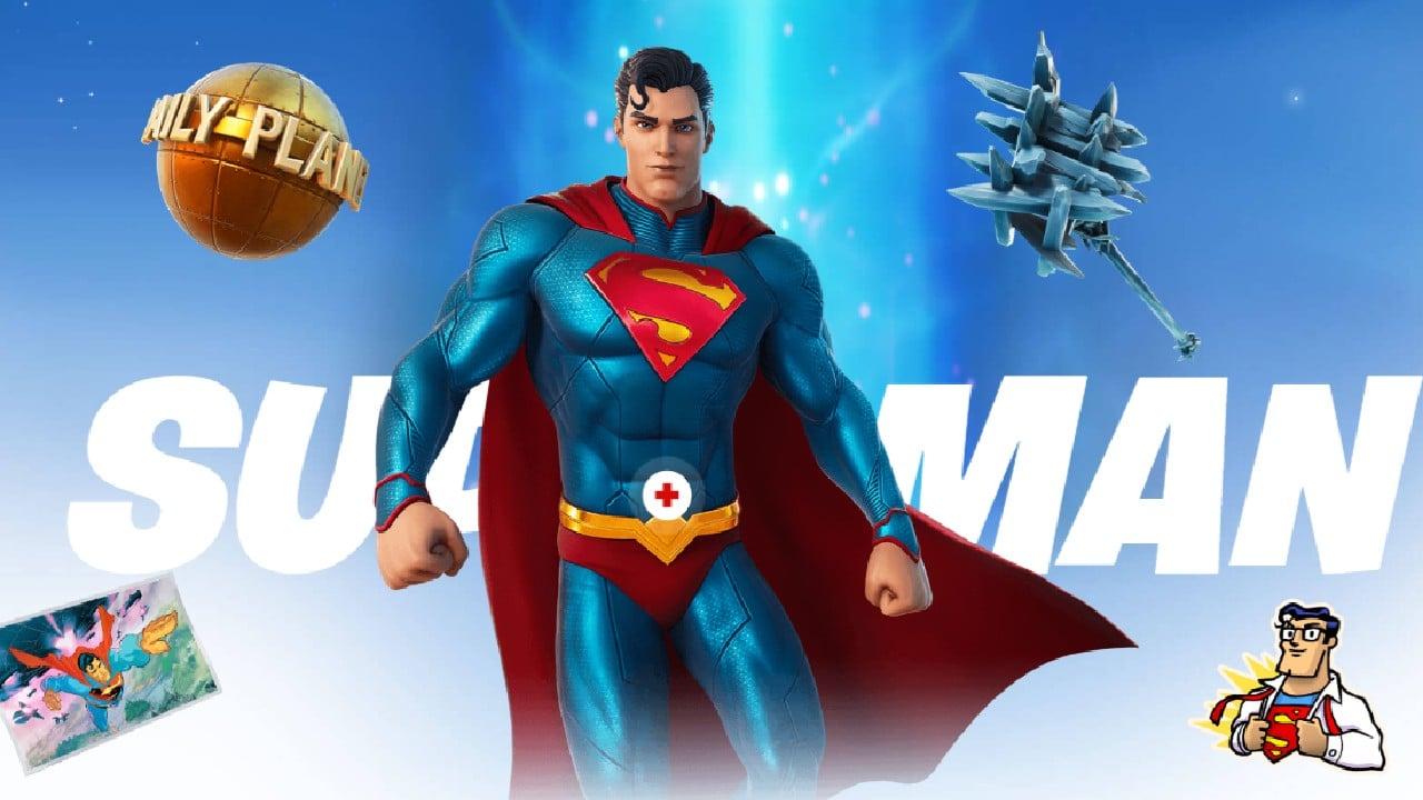 Superman - Passe de Batalha do Fortnite