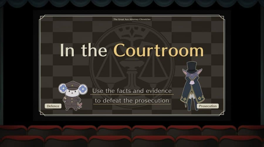 Gameplay de The Great Ace Attorney Chronicles mostra batalha no tribunal