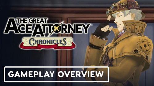 The Great Ace Attorney Chronicles tem trailer de gameplay e história na E3 2021