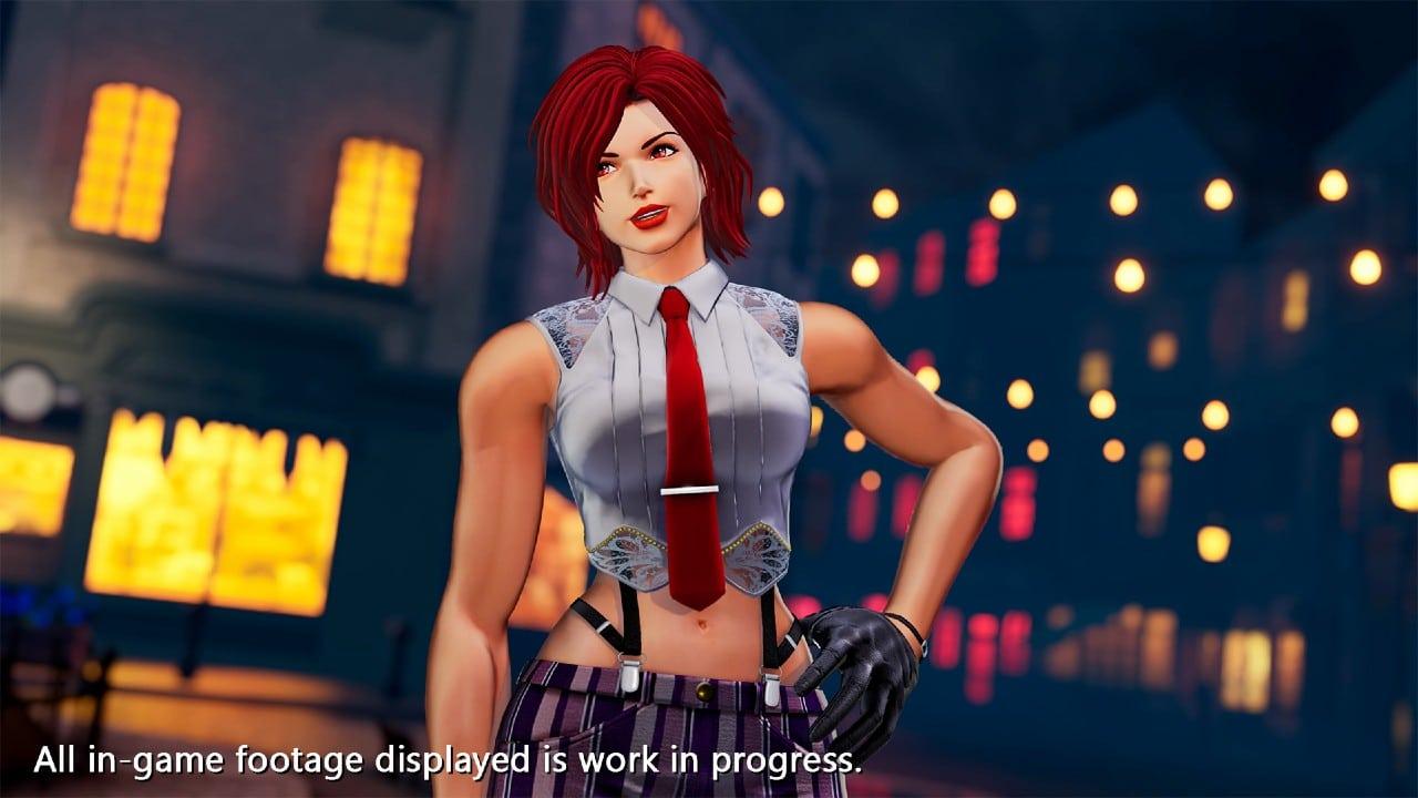 Vanessa, de The King of Fighters XV