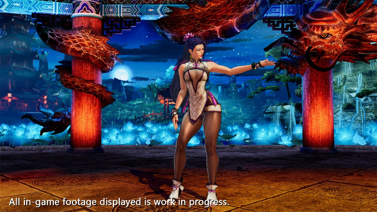 Luong, personagem de The King of Fighters XV