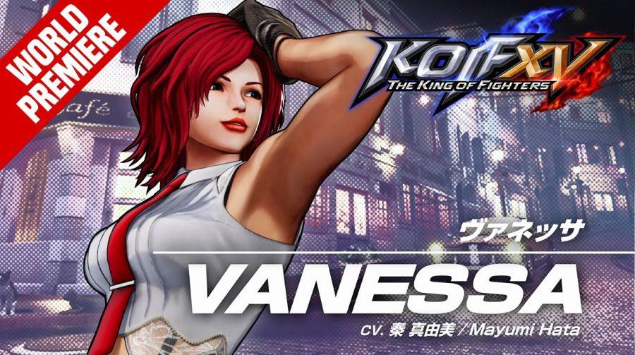 The King of Fighters XV: Vanessa é revelada e fecha o time