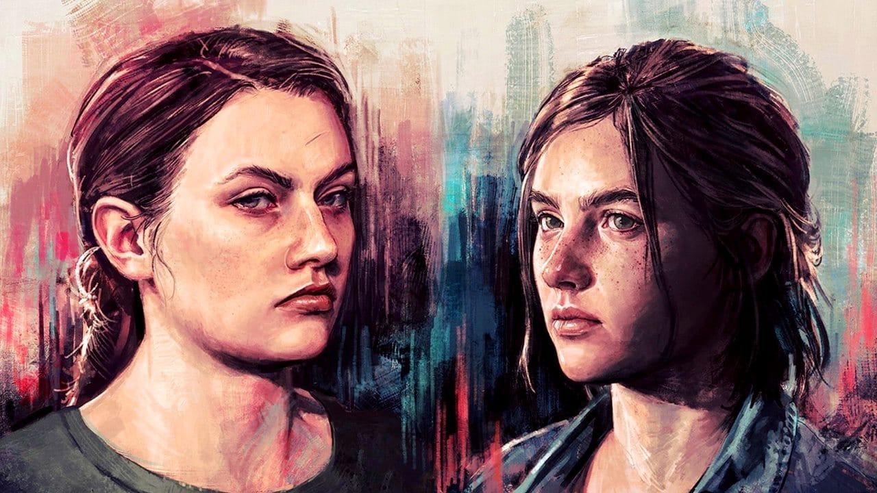 Abby e Ellie, personagens de The Last of Us 2.