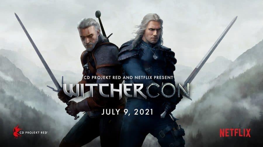 Netflix e CD Projekt RED farão evento voltado a The Witcher em julho