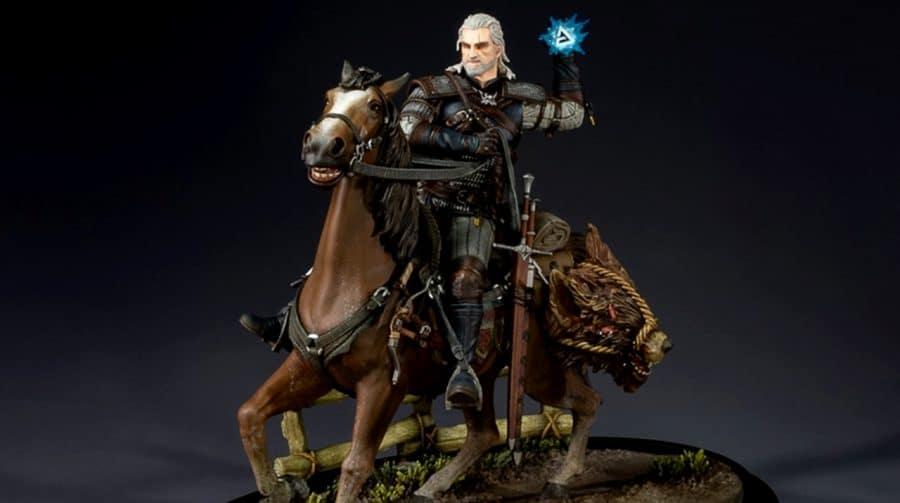 The Witcher: Geralt e Carpeado são destaques em nova estatueta da Dark Horse