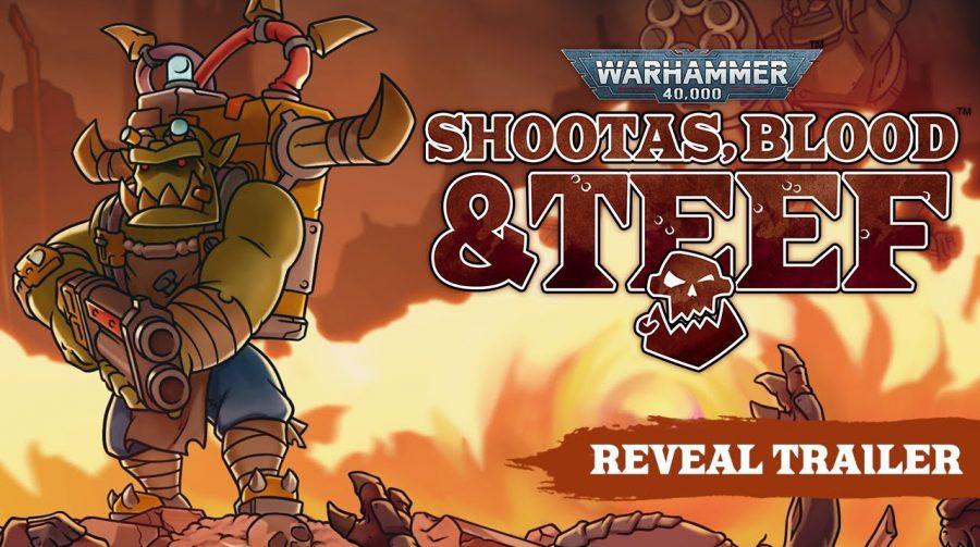 Warhammer 40,000: Shootas, Blood & Teef é anunciado para o PS5 e PS4