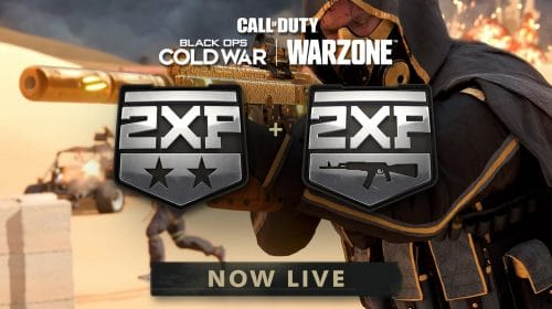 CORRE! Dobro de XP em Warzone e Cold War já está valendo