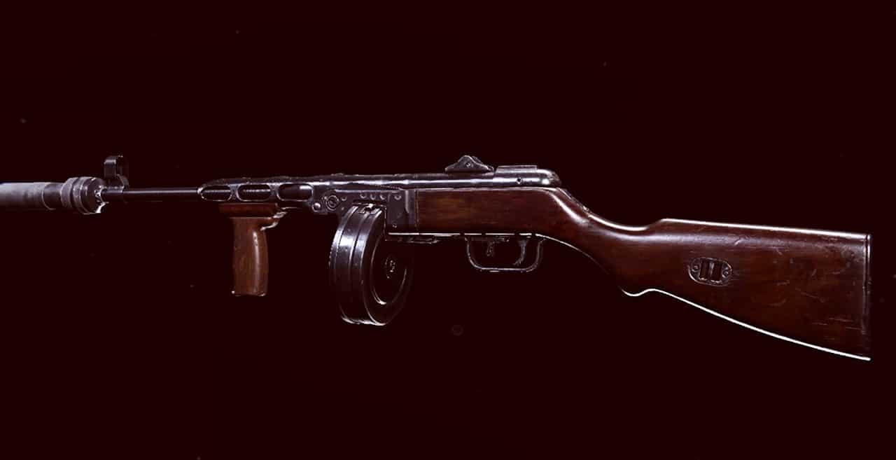 Arma ppsh-41, de Warzone.
