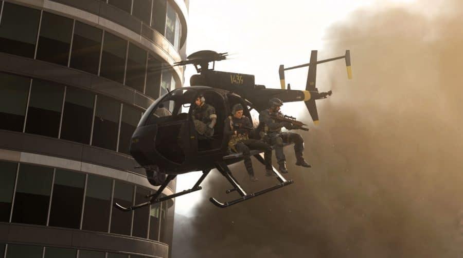 Warzone: jogador derruba helicóptero com a