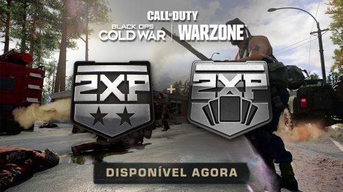 Warzone e Cold War oferecem o dobro de XP em níveis e Passe de Batalha até dia 14
