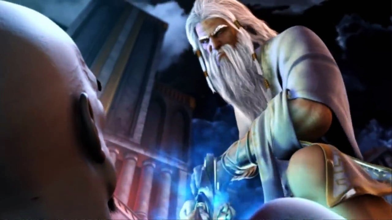 Zeus mata KRatos - A história de kratos