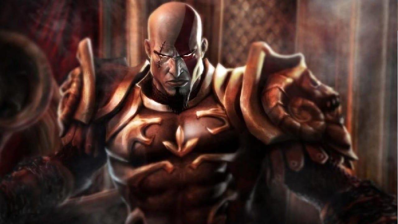 kratos no trono - A história de Kratos