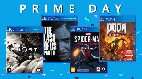 Prime Day 2021: jogos de PS4 com até 80% de desconto!