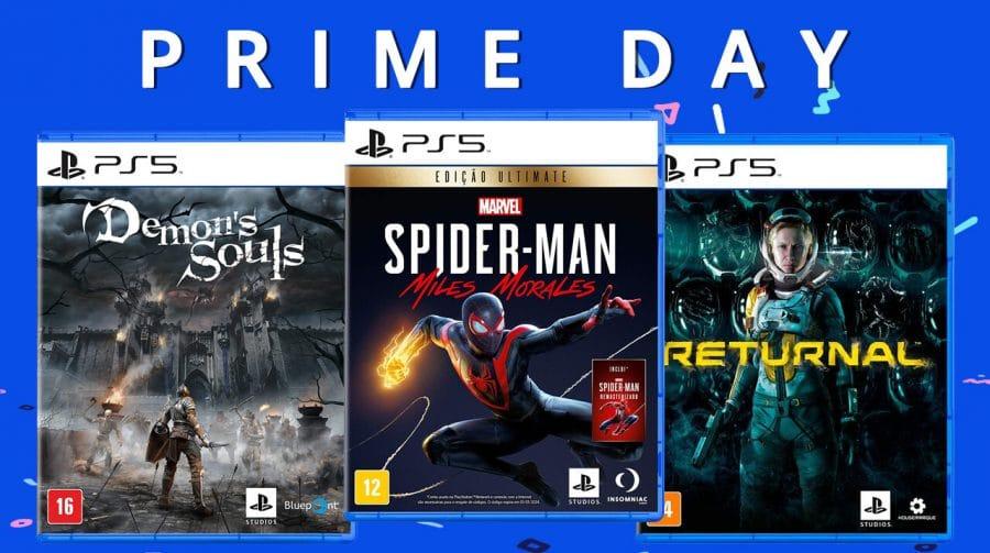 Prime Day 2021: os melhores descontos em jogos de PS5
