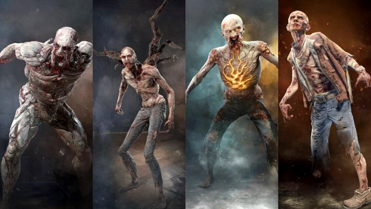 Monstros de Dying Light 2.