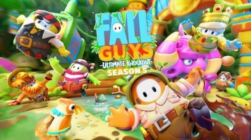5ª temporada de Fall Guys é anunciada com tema de