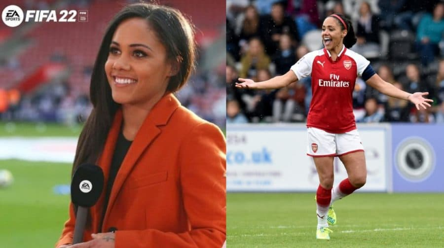 Alex Scott se torna primeira mulher comentarista de um jogo FIFA