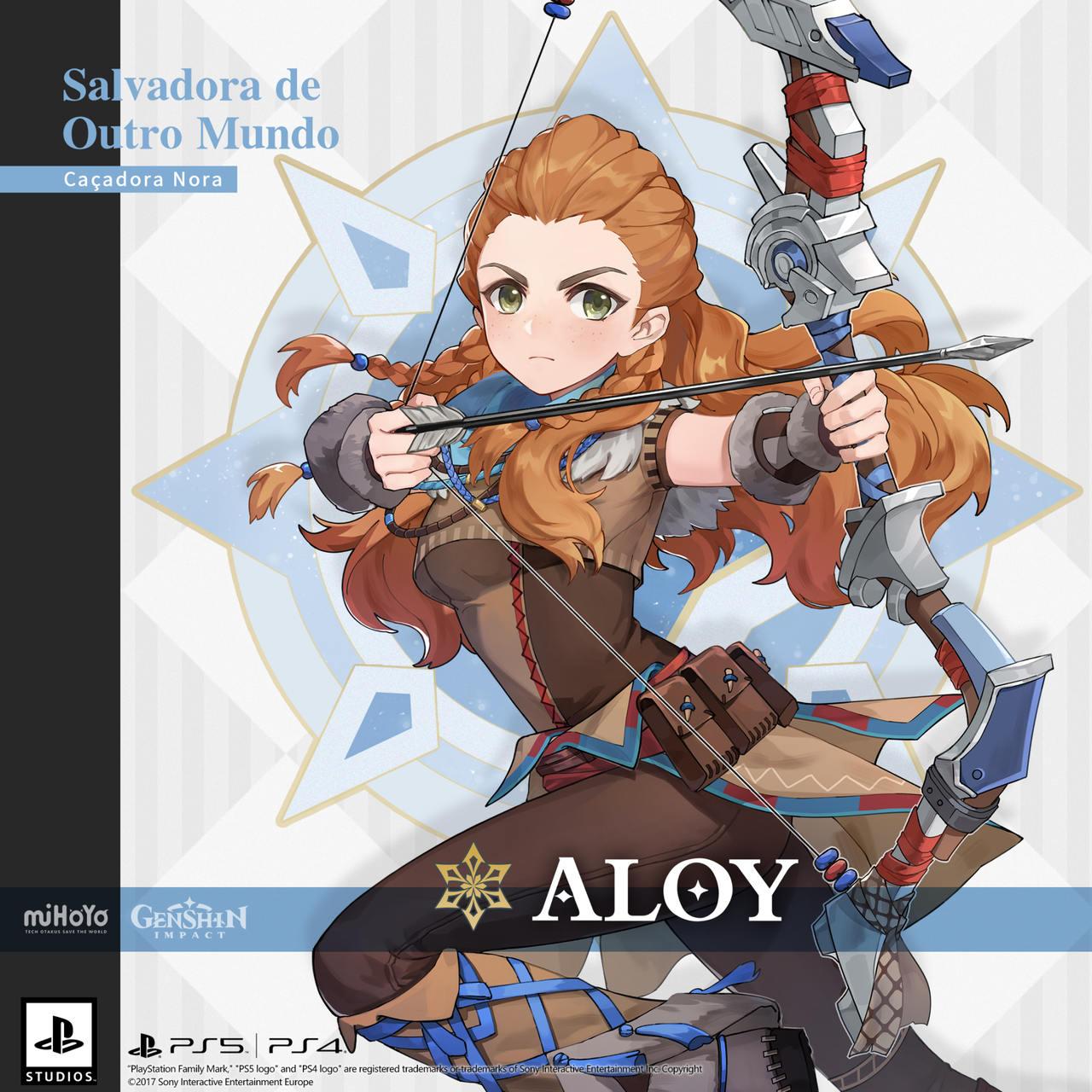 Aloy em Genshin Impact