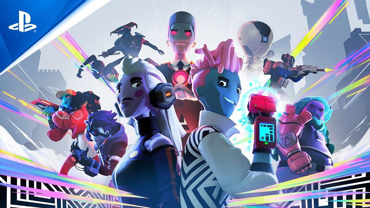 Imagem de Arcadegeddon com vários personagens com fisionomia alienígena