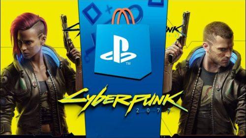 Mesmo com polêmicas, Cyberpunk 2077 é o jogo de PS4 mais baixado da PS Store