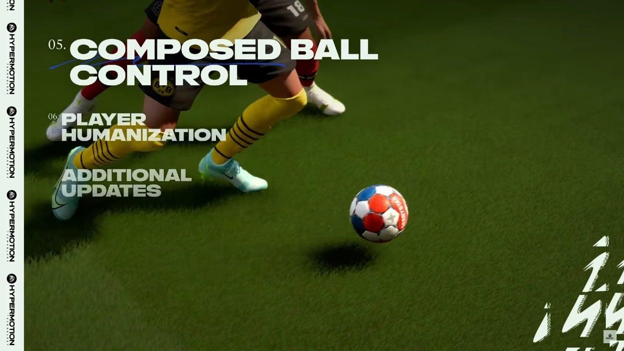 Controle de Bola no Gameplay de FIFA 22