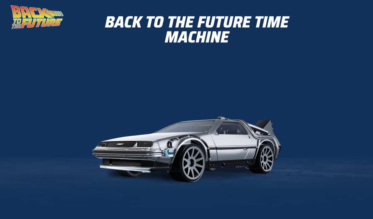 Carro de 'De Volta para o Futuro' em Hot Wheels Unleashed