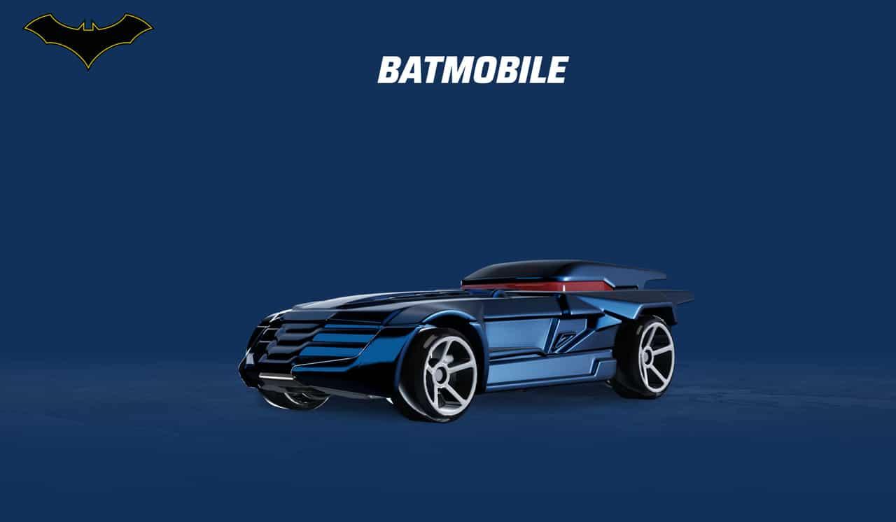 Carro do Batman em Hot Wheels Unleashed