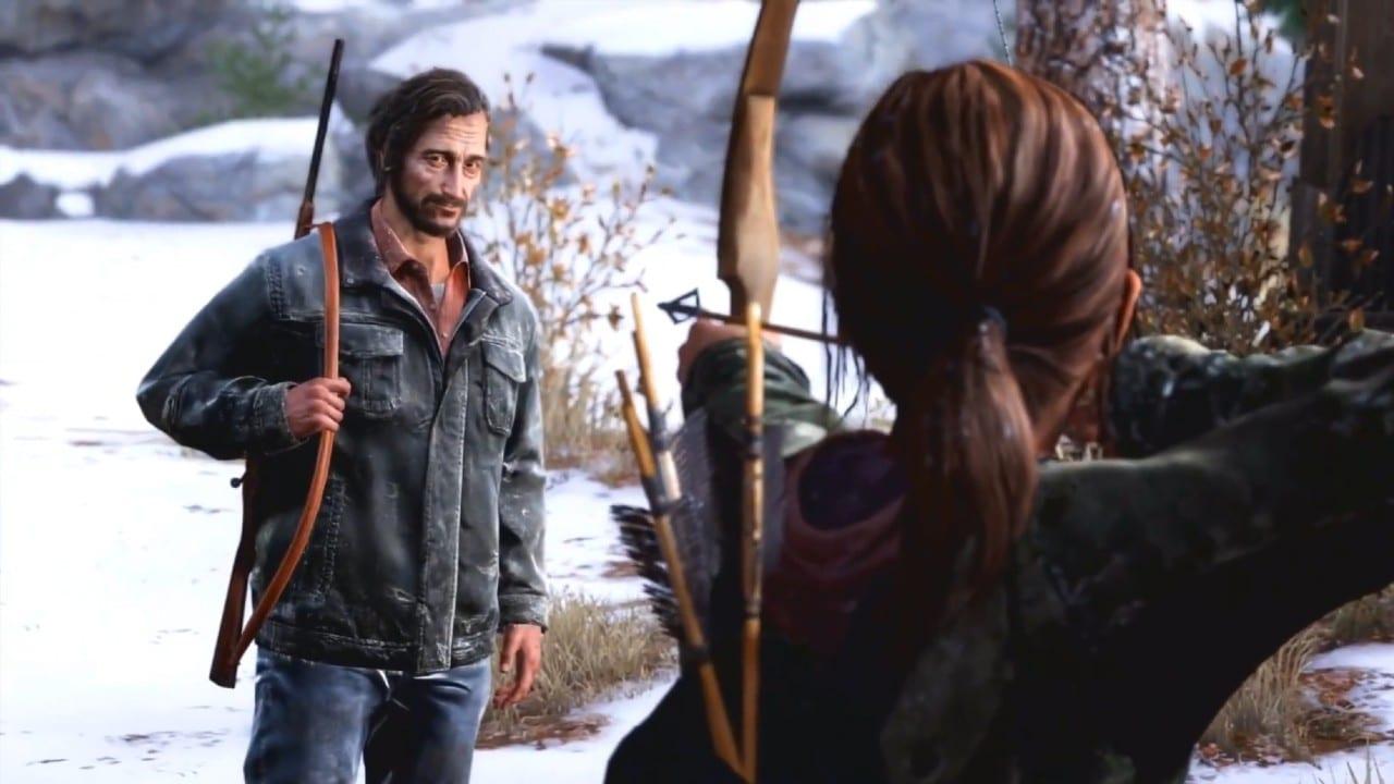 David e Ellie - personagens de The Last of Us