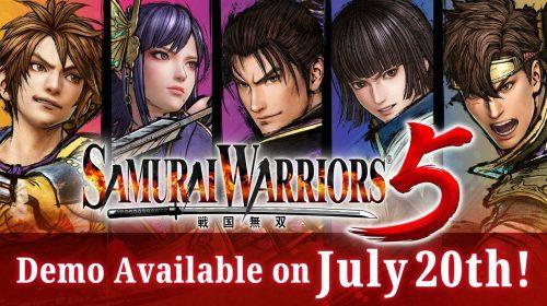 Samurai Warriors 5 terá demo no PS4 a partir desta terça-feira (20)