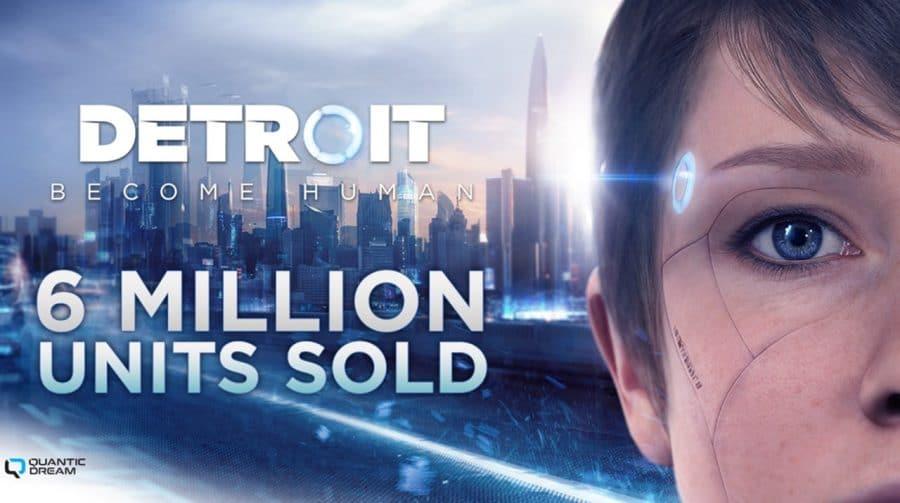 Quantic Dream revela que Detroit: Become Human já chegou a 6 milhões de unidades vendidas