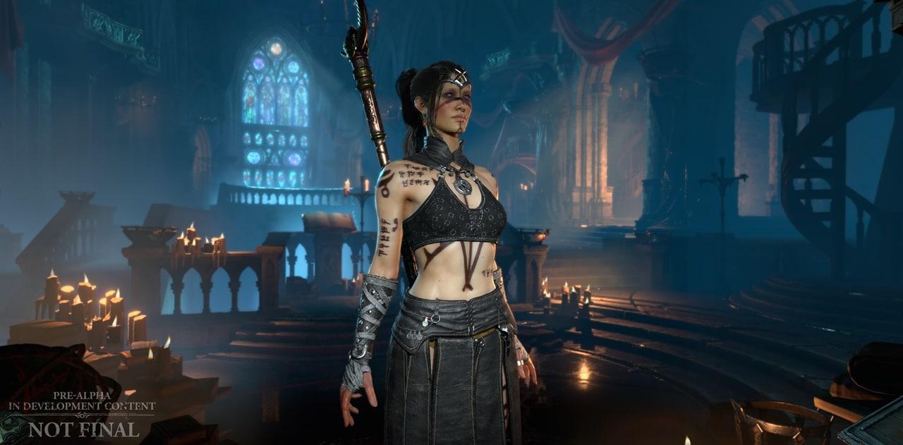 Customização de Diablo IV.
