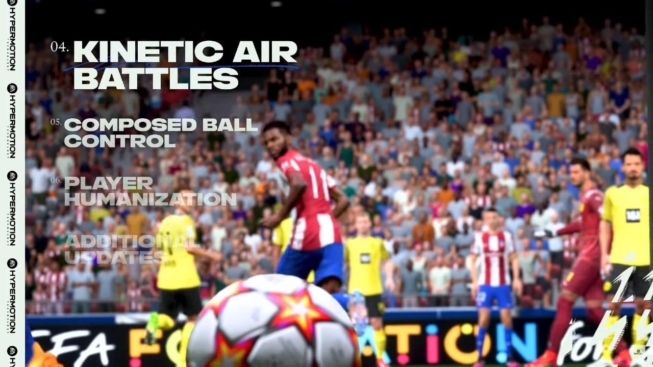 Disputas de bolas aéreas - Gameplay do FIFA 22