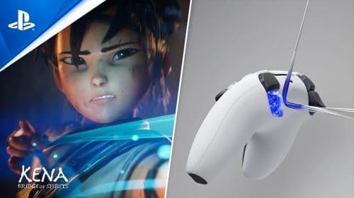 Novo trailer do DualSense destaca gatilhos adaptativos do controle