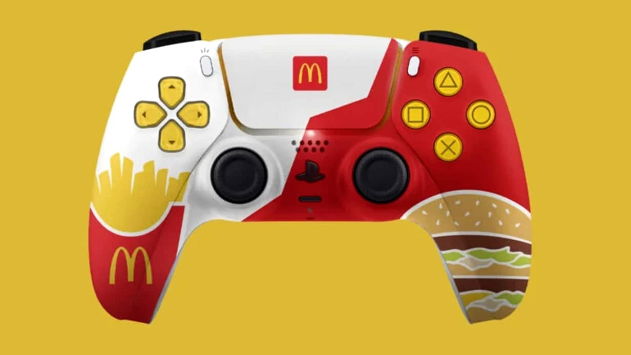 DualSense do McDonalds
