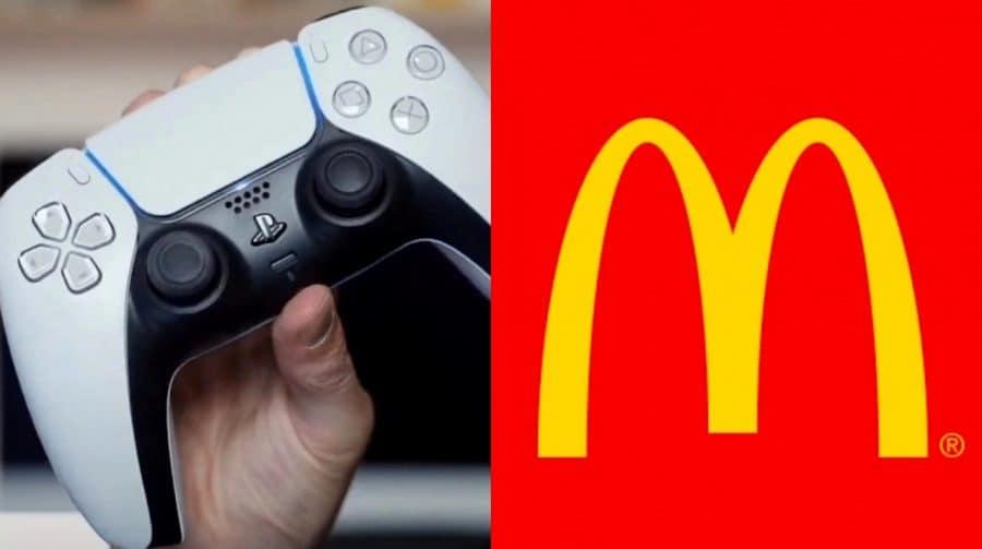 Amo muito tudo isso! Austrália terá DualSense temático do McDonald's