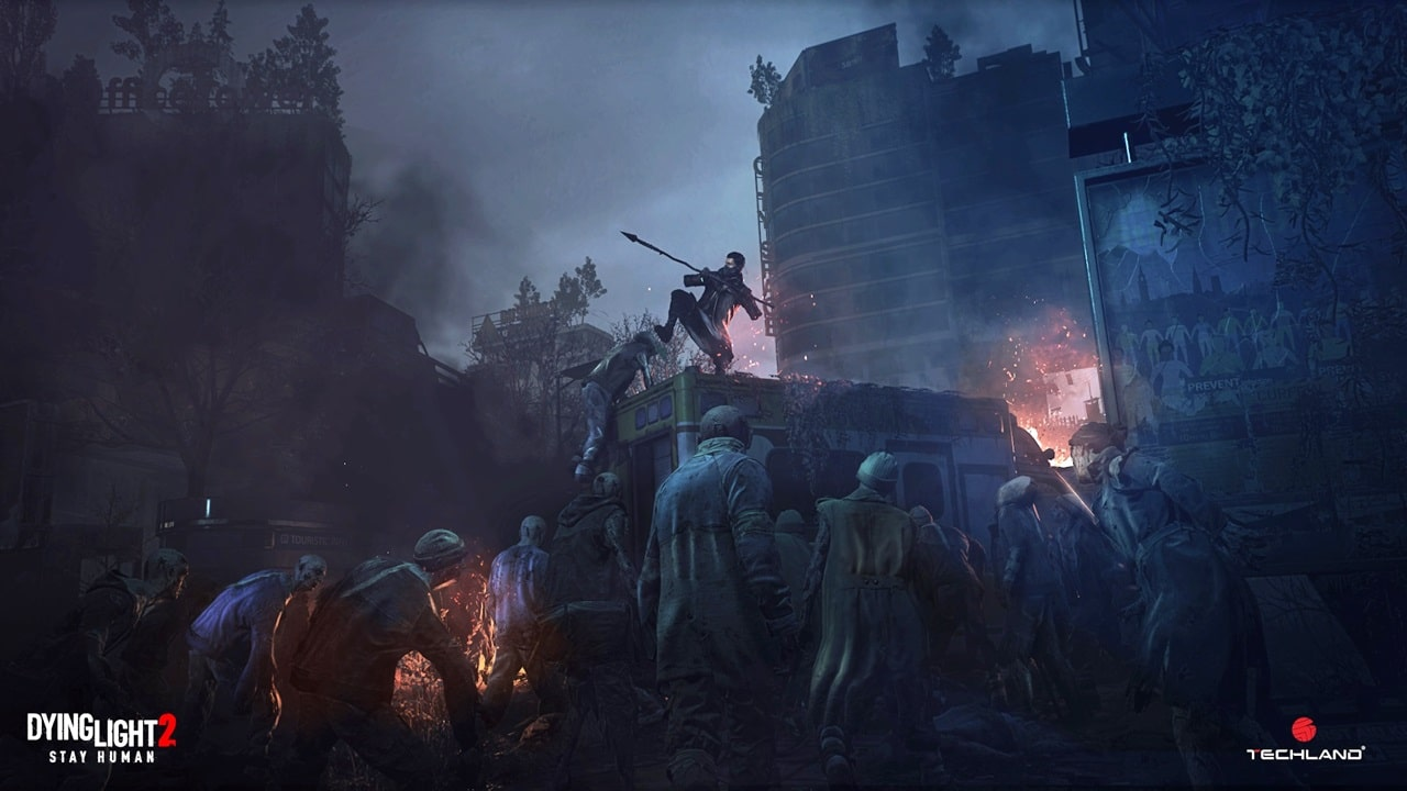 Cena de Dying Light 2.